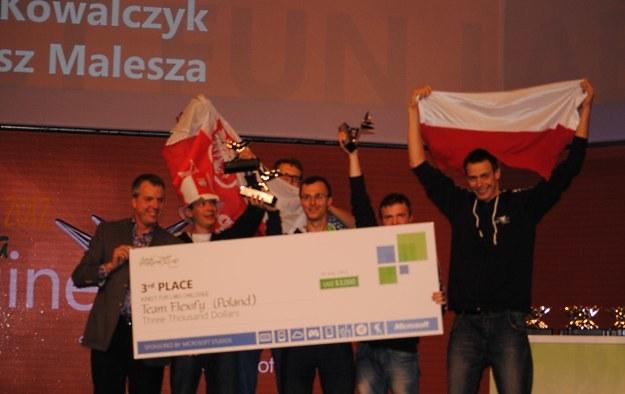 Flexify z Poznania - zajęli 3. miejsce w kategorii  Kinect Fun Labs Challenge /INTERIA.PL