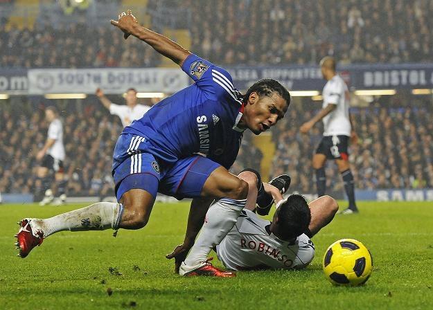 Florent Malouda zapewnił Chelsea zwycięstwo na zakończenie udanego roku /AFP
