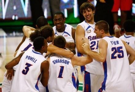 Florida Gators ponownie najlepszą drużyną Marcowego Szaleństwa /AFP