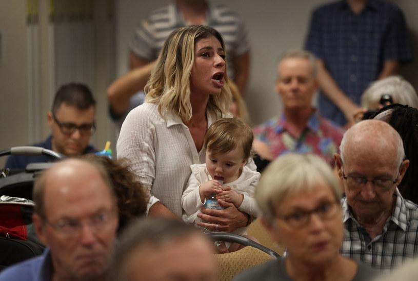 Floryda: Spór o Obamacare na spotkaniu z republikańskim kongresmenem /AFP