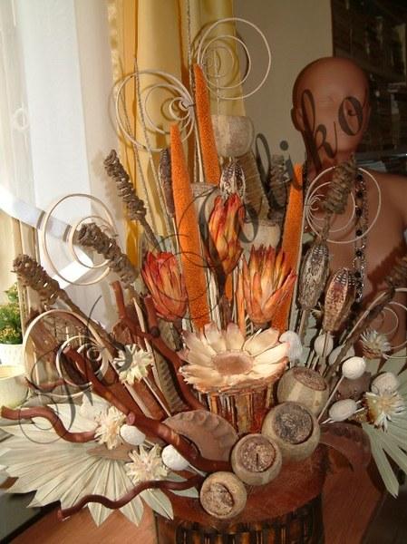 dekoracja susz egzotyczny dla wymagającego:)!