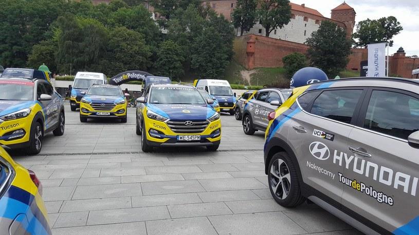 Flota Hyundaia na TdP /INTERIA.PL