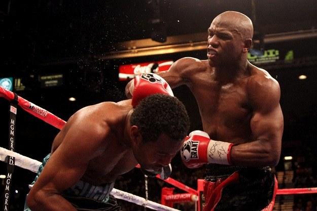 Floyd Mayweather Jr. /AFP