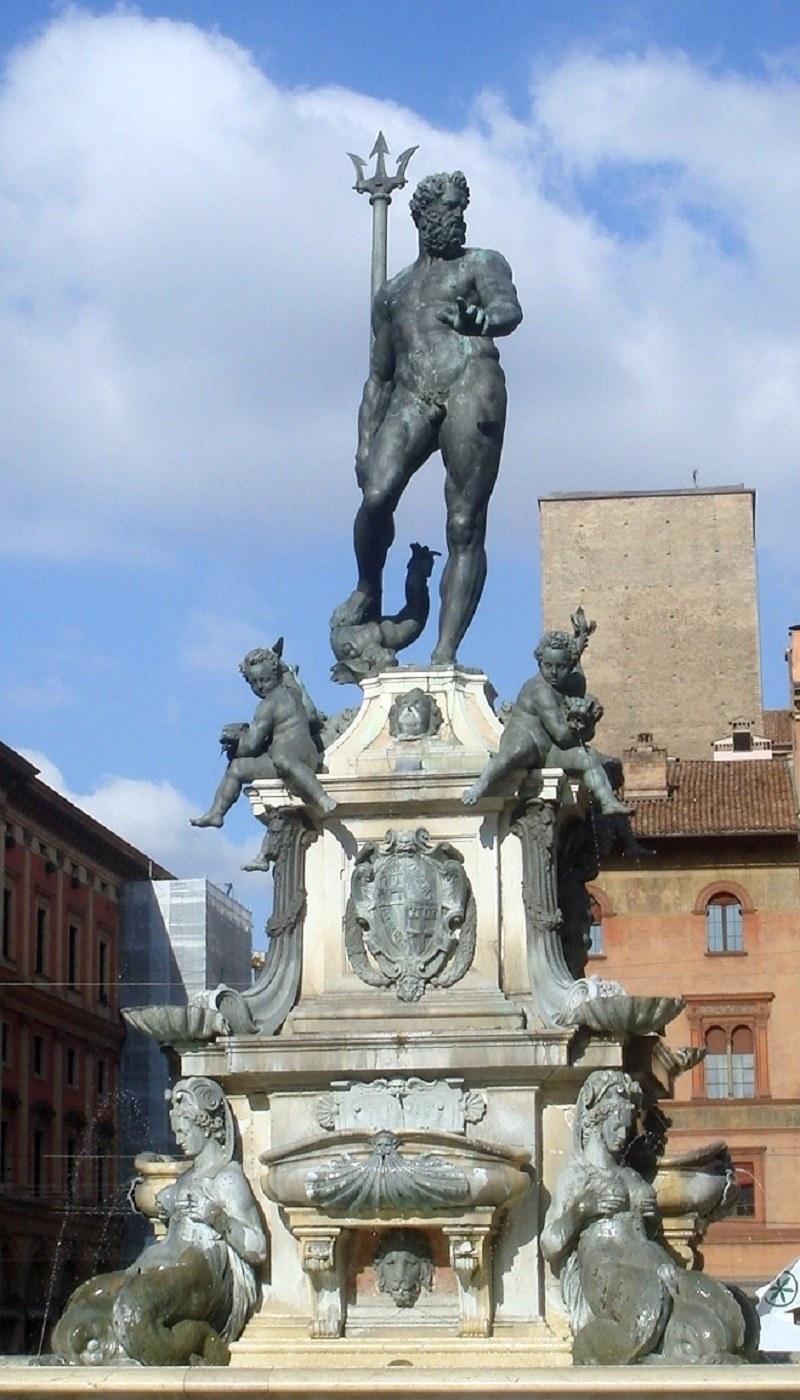 Fontanna Neptuna znajdująca się w Bolonii /Giovanni Dall'Orto /Wikipedia