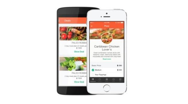 foodpanda w wersji aplikacji mobilnej /materiały prasowe