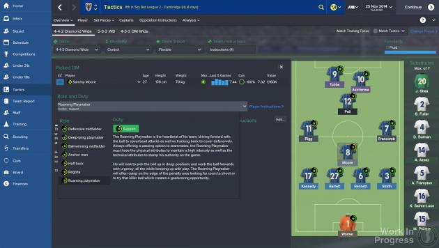 Football Manager 15 /materiały prasowe