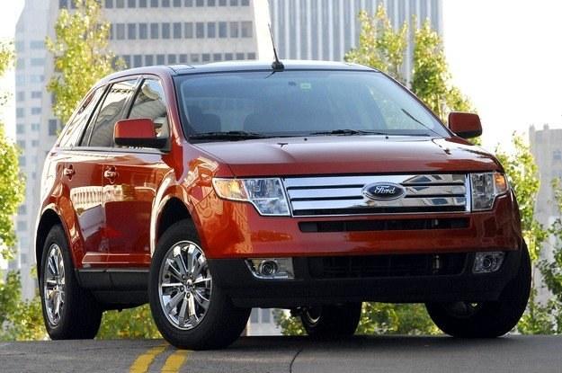 Ford edge z 2007 roku kosztuje ok. 70-80 tys. zł. Przeróbka oświetlenia to duży problem /