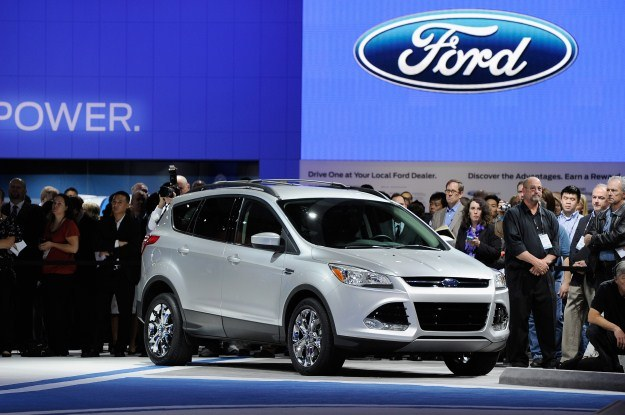 Ford escape czyli kuga II /AFP