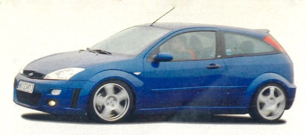 Ford Focus RS /Motor