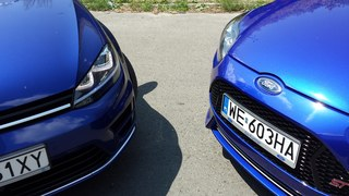 Ford Focus ST i VW Golf R