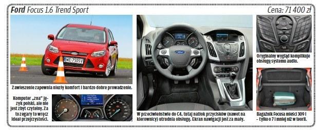 "Ford focus /tygodnik ""Motor"""