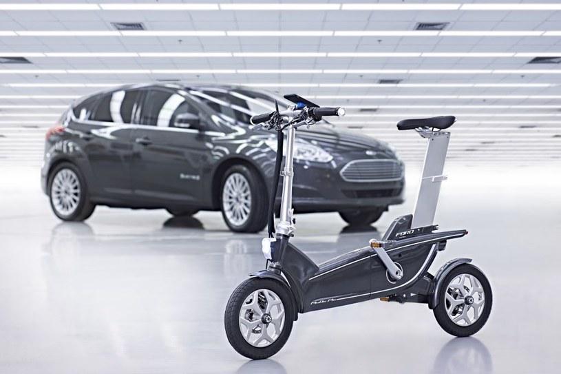 Ford i jego wizja roweru (jednośladu?) przyszłości /materiały prasowe