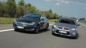 Ford Mondeo kontra Opel Insignia - niekończący się pojedynek