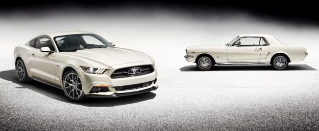 Ford Mustang ma 50 lat /