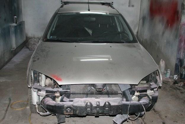 Ford nie został naprawiony /Policja