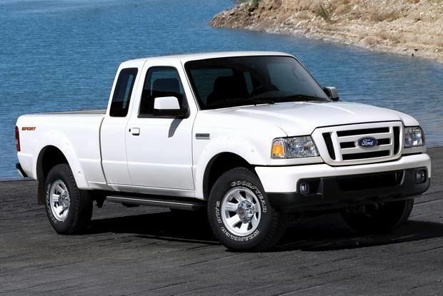 Ford Ranger / Kliknij /INTERIA.PL