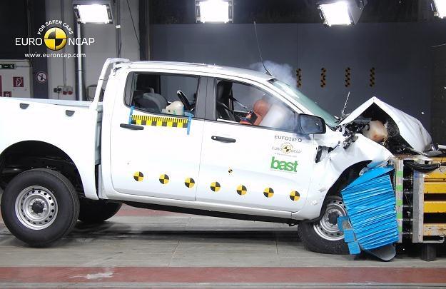 Ford ranger uzyskał najlepszy wynik w historii testów pickupów /