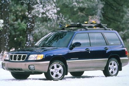 Forester model 2001 /INTERIA.PL