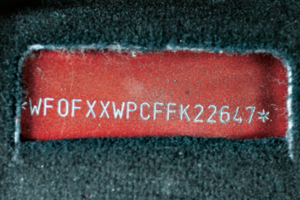 Formalnie istotny jest numer VIN trwale wybity na nadwoziu. /Motor