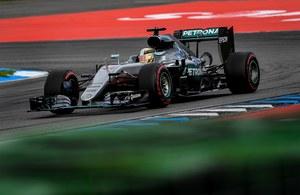 Formuła 1 - triumf Hamiltona w Niemczech