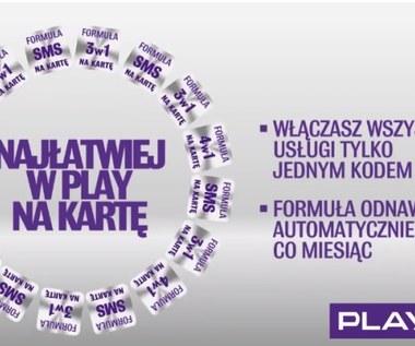 Formuła Play na Kartę - nowa oferta Play