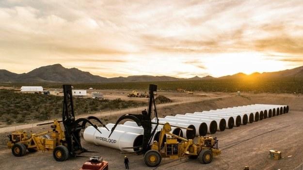 Fot. Hyperloop One /materiały prasowe