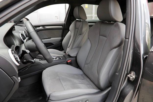 Fotele A3 mogą być teraz zaopatrzone w masaż. Na zdjęciu: opcjonalne, sportowe. /Motor