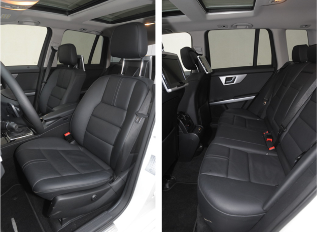 fotele Mercedes GLK /Motor