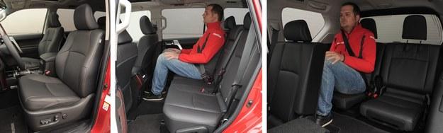 Fotele są wygodne. Skórzana tapicerka i elektryczna regulacja to standard. Pakiet m.in. z siedzeniami oraz klimatyzacją w 3. rzędzie kosztuje 20 000 zł. /Motor