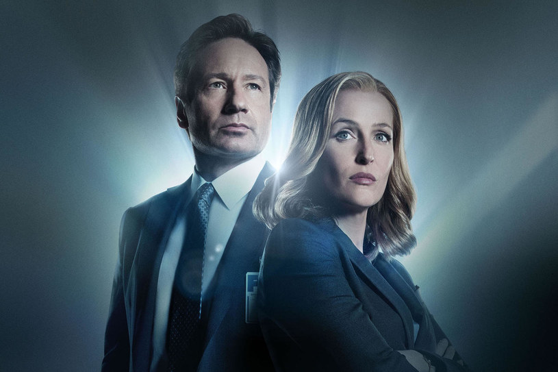 Fox Mulder (David Duchovny), Dana Scully (Gillian Anderson) /FOX /materiały prasowe