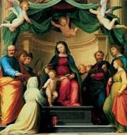 Fra Bartolommeo, Mistyczne zaślubiny św. Katarzyny, 1511 /Encyklopedia Internautica