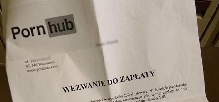 Fragment dokumentu, jaki mieli znaleźć w skrzynce mieszkańcy Jaworzna (kadr z postu Jaworzno PL na Facebooku - pełny zrzut ekranu na dole materiału) /Internet
