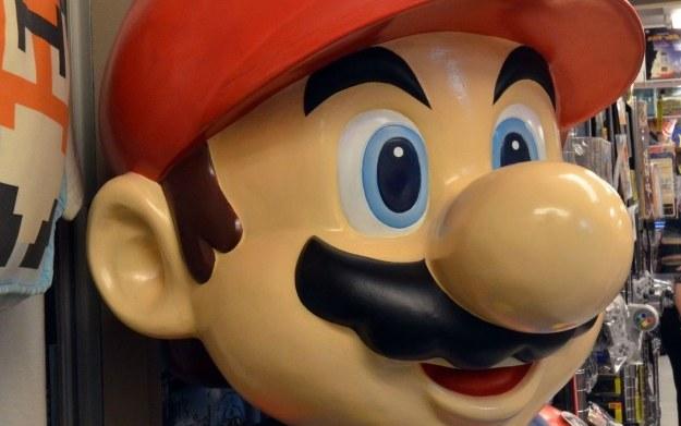 Fragment figurki Mario - bohatera serii gier Nintendo /AFP