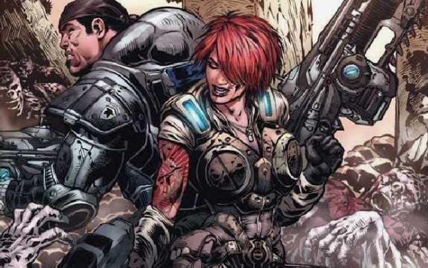 Fragment komiksu Gears of War: Barren Part Two /Informacja prasowa