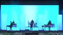 Fragment koncertu The 1975 podczas Opene'er Festival 2016