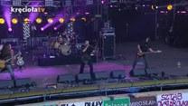 Fragment koncertu zespołu Cochise podczas Festiwalu Woodstock