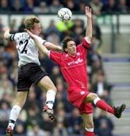 Fragment meczu Derby - Middlesbrough (0:1)
