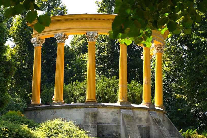 Fragment ogrodów w Łańcucie /Konrad Filip /East News