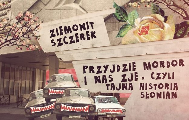 """Fragment okładki książki """"Przyjdzie Mordor i nas zje"""" /Okładka: Balbina Bruszewska /INTERIA.PL"""