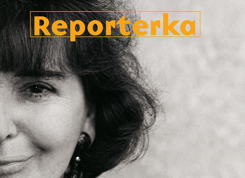 """Fragment okładki książki """"Reporterka"""" /materiały prasowe"""