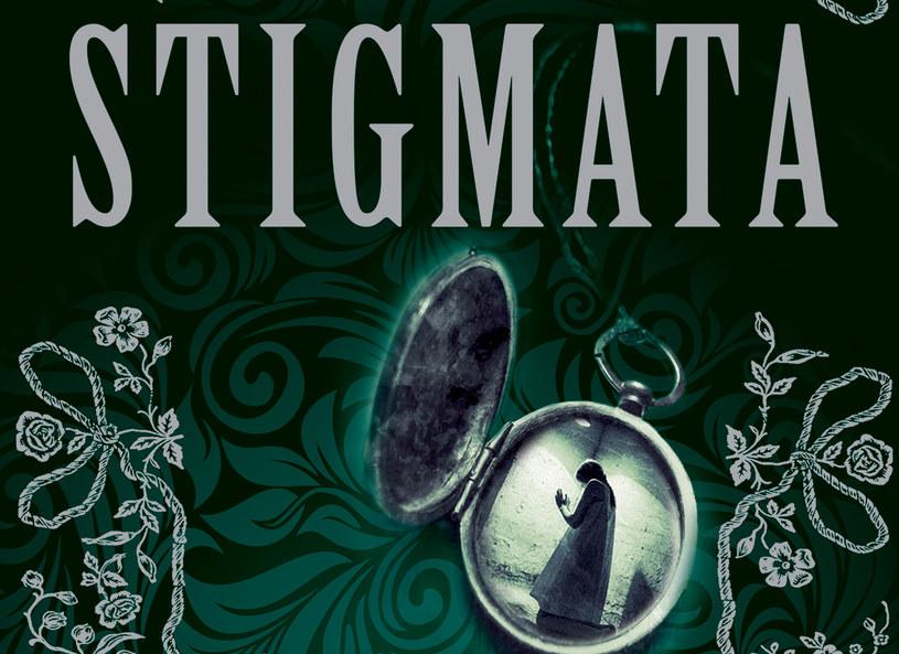 """Fragment okładki książki """"Stigmatia"""" /materiały prasowe"""