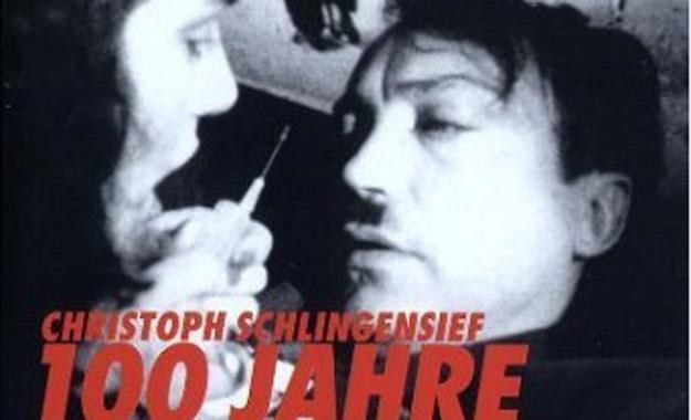 "Fragment plakatu filmu ""100 lat Adolf Hitler"" /materiały prasowe"