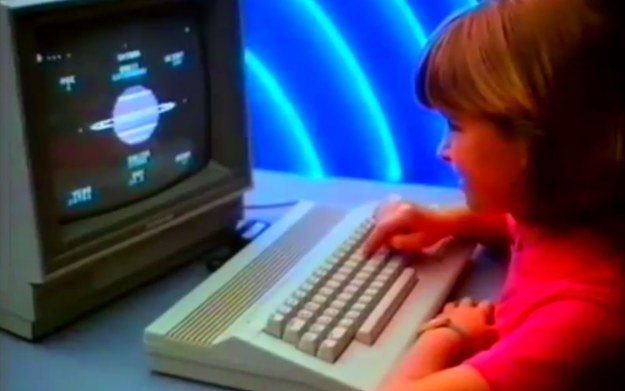 Fragment reklamy Commodore 64 umieszczony w serwisie Youtube /materiały prasowe