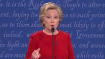 Fragmenty pierwszej debaty pomiędzy Clinton a Trumpem