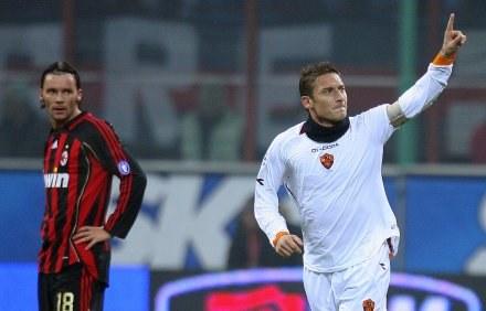 Francesco Totti upokorzył Milan /AFP