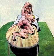 Francis Bacon, portret Henriety Moraes, 1966 /Encyklopedia Internautica