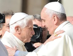 """Franciszek i """"dziadek"""" Benedykt"""