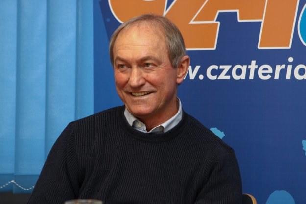 Franciszek Smuda był gościem czata w portalu INTERIA.PL Fot. Remigiusz Załucki /INTERIA.PL