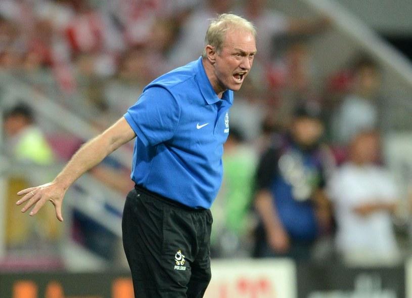 Franciszek Smuda poznał smak pracy selekcjonera drużyny narodowej /AFP