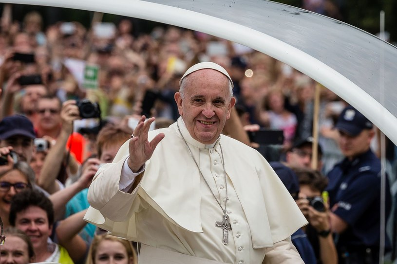 Franciszek w Częstochowie /AFP